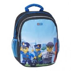 Rucsac gradinita Ergo LEGO Core Line - design City Police Chopper