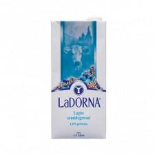 LaDORNA Lapte de vaca semidegresat 1l, 1,5% grasime