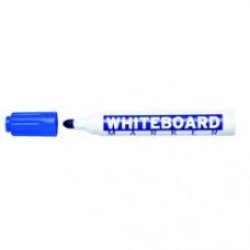 Marker pentru table de scris, varf rotund, corp plastic, MOLIN - albastru