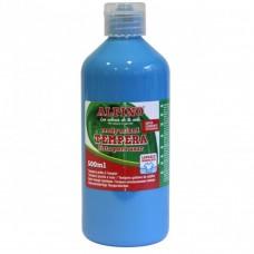 Acuarele Tempera lavabila, 500ml, Alpino - bleu