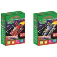 Kit 3 culori plastilina magica + set accesorii, ALPINO Rapid Cars