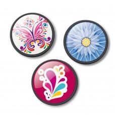 Insigne, 3buc/set, Roller NIKIDOM - Floralia