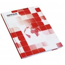 Registru A4, 96 file 55g/mp, coperti carton rigid, Office Products - matematica