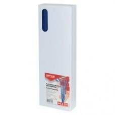 Inele plastic  6 mm, max 25 coli,100buc/cut, Office Products - albastru