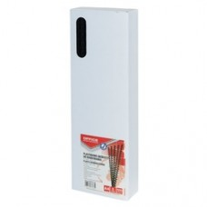 Inele plastic  6 mm, max 25 coli,100buc/cut, Office Products - negru
