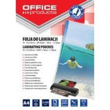 Folie pentru laminare,  A4 125 microni 100buc/top Office Products