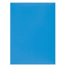 Mapa din carton plastifiat cu elastic, 300gsm, Office Products - roz