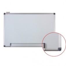 Tabla alba magnetica cu rama din aluminiu,  60 x  90 cm, Optima