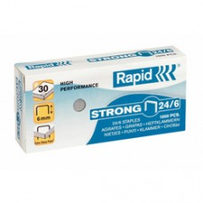 Capse RAPID Strong 24/6, 1000 buc/cutie