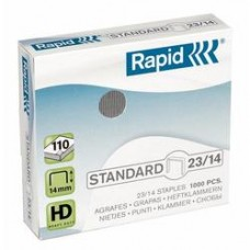 Capse RAPID Standard 23/14, 1000 buc/cutie - 80-110 coli
