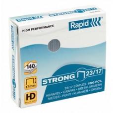 Capse RAPID Strong 23/10, 1000 buc/cutie - pentru 40-70 coli