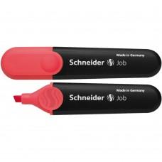 Textmarker SCHNEIDER Job, varf tesit 1+5mm - rosu