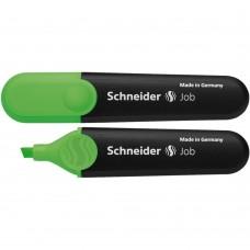 Textmarker SCHNEIDER Job, varf tesit 1+5mm - verde