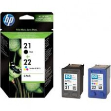 Cartus HP 21/22 Combo-pack Inkjet Print s SD367AE