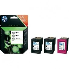 Cartus HP 300 Ink  3-Pack SD518AE