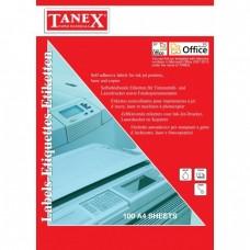 Etichete albe autoadezive Laser  1/A4 210 x 297 mm 100coli/top