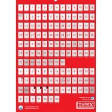 Etichete albe autoadezive Laser  21/A4 65,3x38,1 mm 100coli/top