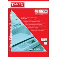 Etichete albe autoadezive Laser  24/A4 64x34 mm 100coli/top