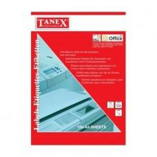 Etichete albe autoadezive Laser  2/A4 210 x 148,50 mm 100coli/top