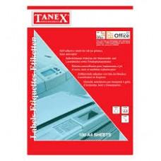 Etichete albe autoadezive Laser  4/A4 192x59 mm 100coli/top