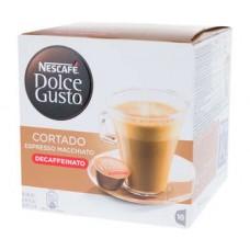 Nescafe Dolce Gusto Cortado capsule Espresso Macchiato decofeinizate 6.2g x 16buc