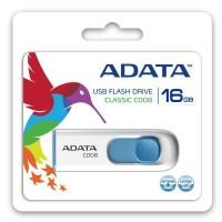 USB Flash Drive ADATA 16Gb, C008 ,USB2.0 Alb