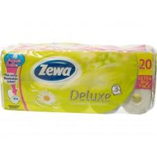 Hartie igienica Zewa Aqua Tube Deluxe Camomille 20 role