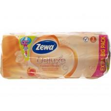 Hartie igienica Zewa Aqua Tube Deluxe Cashmere Peach 20 role